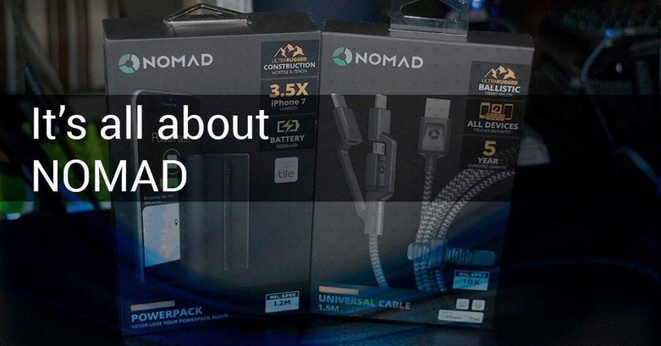 NOMAD new product line cryovex header