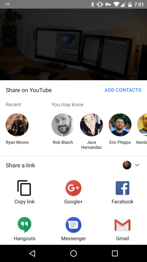 New YouTube sharing feature is live in Canada but its invite only everywhere else... 14