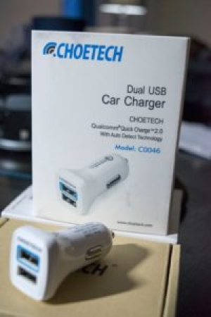 CHOETECH Dual USB Quick Charge 2.0 cryovex C0046 pic 1