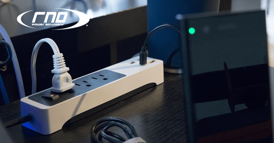 USB and Type C with 3 AC Outlets from RND made for the office! 2