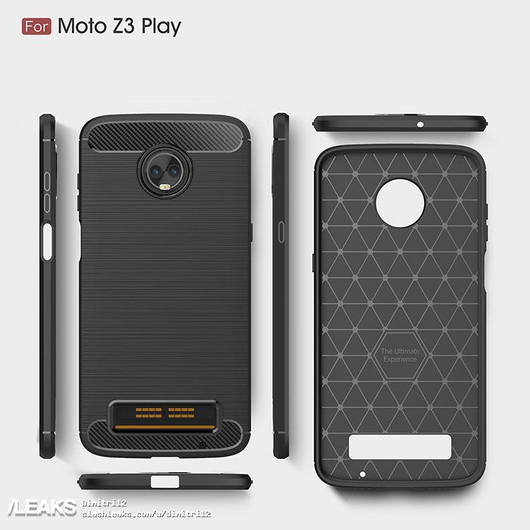 Audio Jack missing Moto Z3 Play?