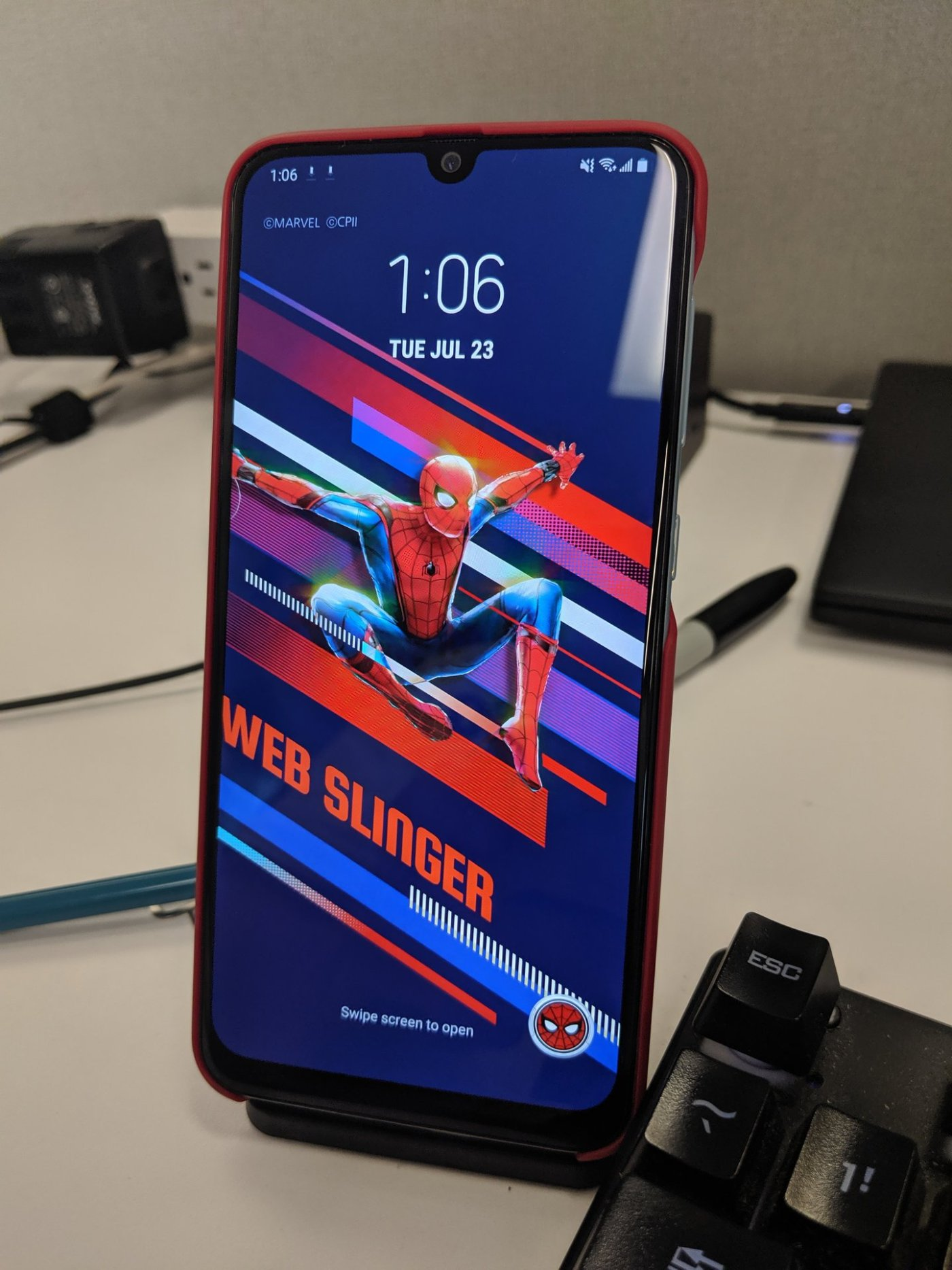 Samsung Galaxy A50 - Spiderman Far From Home - Review