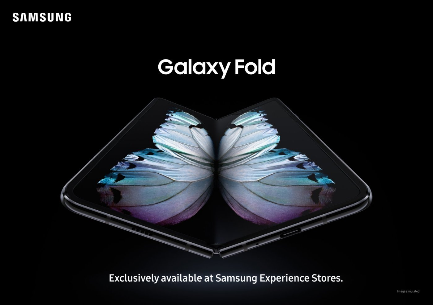 Samsung Galaxy Fold November 28th 2019 Black