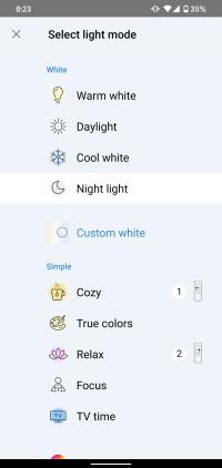 WiZ App cryovex screencapture 7