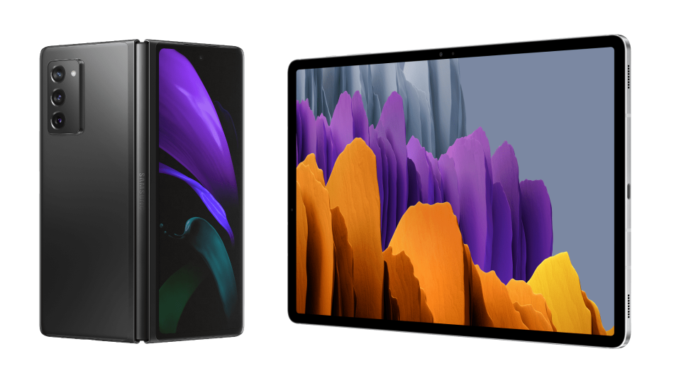 AVAILABLE Samsung Galaxy Z Fold2 5G & Galaxy Tab S7 and Tab S7+