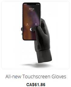 All-new Touchscreen gloves