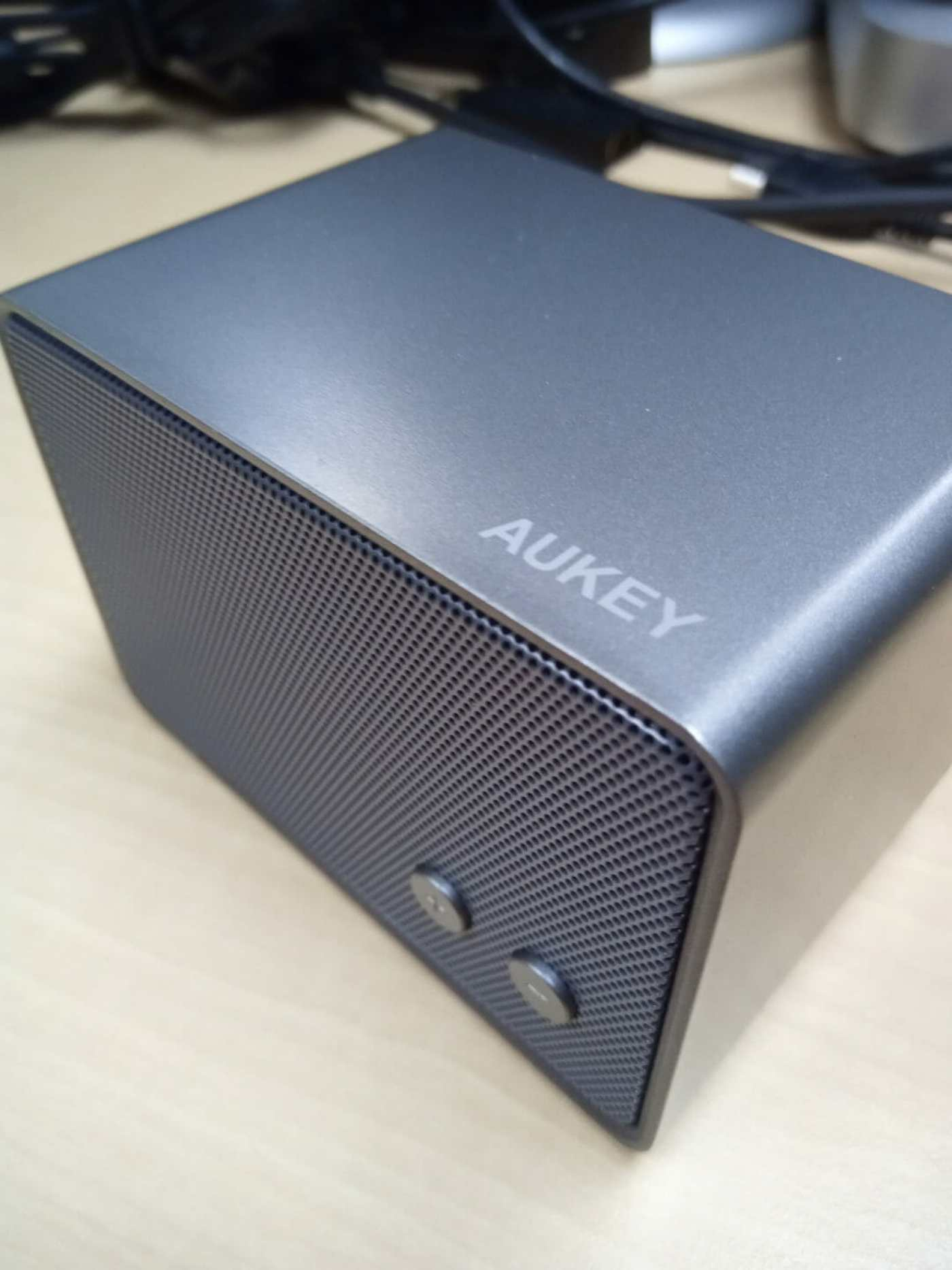 AUKEY Bluetooth Speaker offers decent sound in a compact size