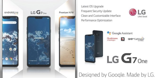LG G7 One_Designed by Google. Made by LG 3