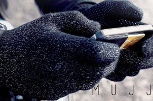 MUJJO Double Layered Touchscreen Gloves header