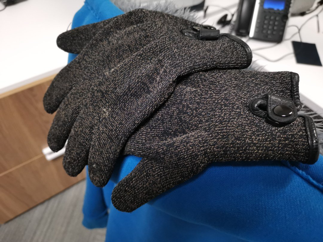 MUJJO Double Layered Touchscreen Gloves