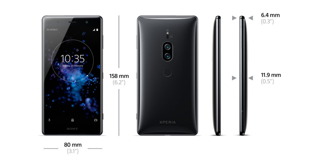 Sony Xperia XZ2 Premium Canada release Martin Android news