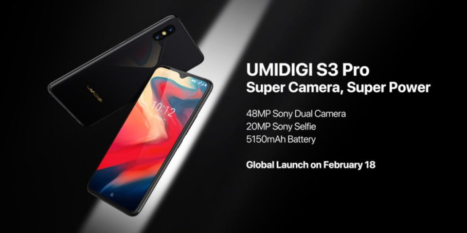 UMIDIGI S3 Pro confirmed official launch 18th February android news all bytes