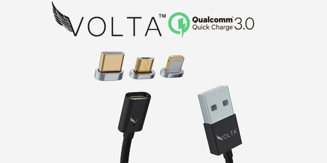Volta magnetic charger Android news Martin Ottawa Canada review