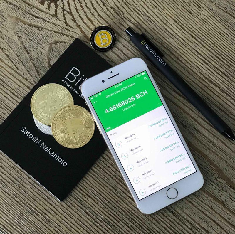 Bitcoin portefeuille mobile