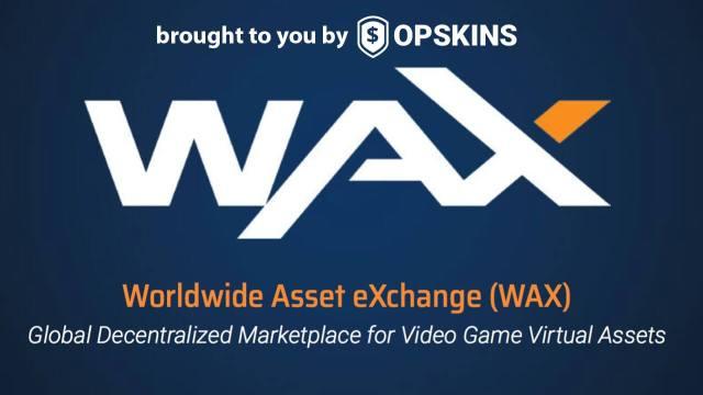تبادل السلع والعملات الافتراضية على WAX