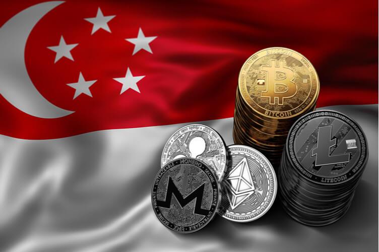 انعدام سبب قوي لمنع تداول العملة المشفرة في سنغافورة