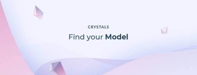 منصة CRYSTALS أول منصة مبتكرة  قائمة على البلوكشين في العالم لعارضي الأزياء