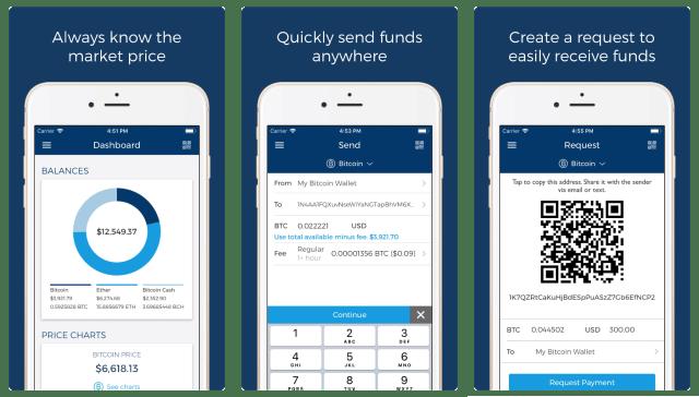 تطبيقات العملات الرقمية المشفرة