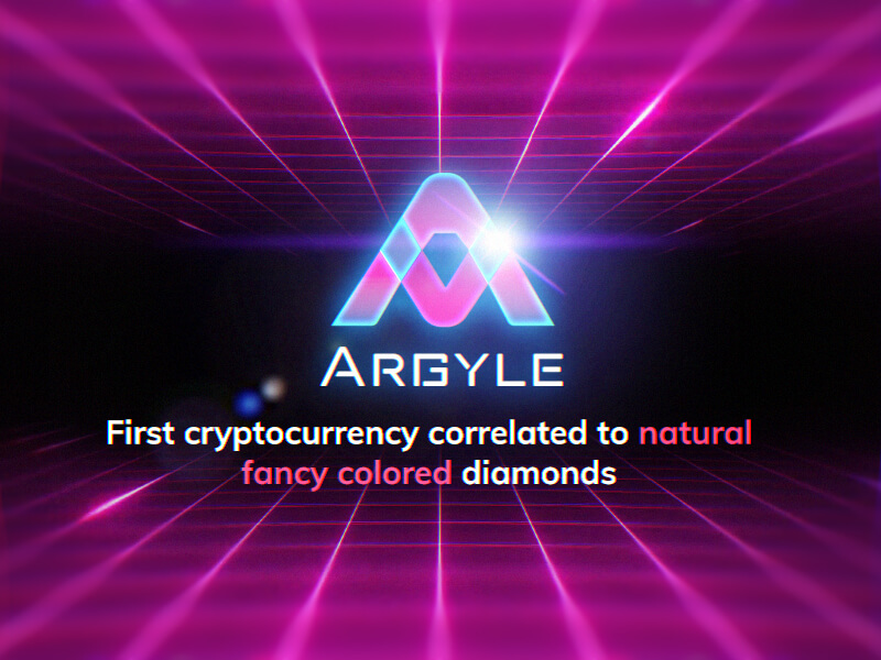 عملةArgyle : أول عملة رقمية مشفرة على الإطلاق مدعومة بسندات أداء وألماس ملون بقيمة 25 مليون دولار