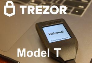 Trezor Model T : الدليل الشامل لمحفظة الأجهزة