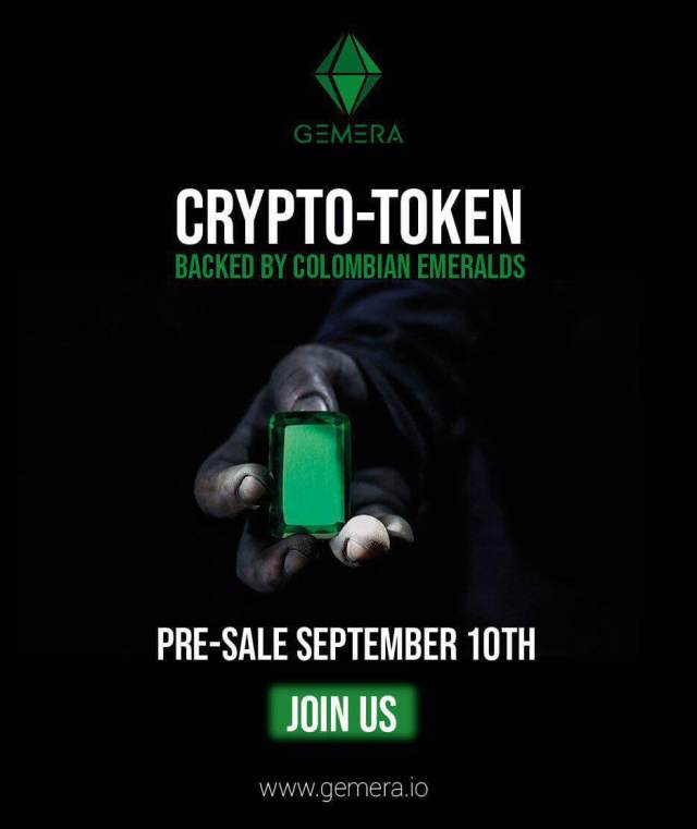 Crypto-Token Backed by Colombian Emeralds