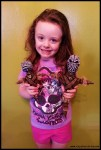 Mia with Voodoo Dolls