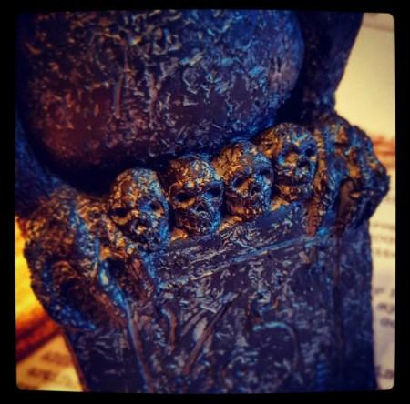 Tsathoggua Idol skulls