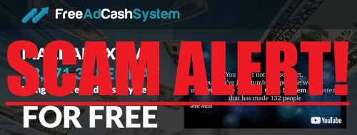 Free Ad Cash System Scam