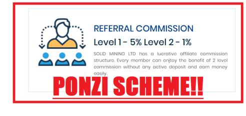 Solid Mining LTD Alert