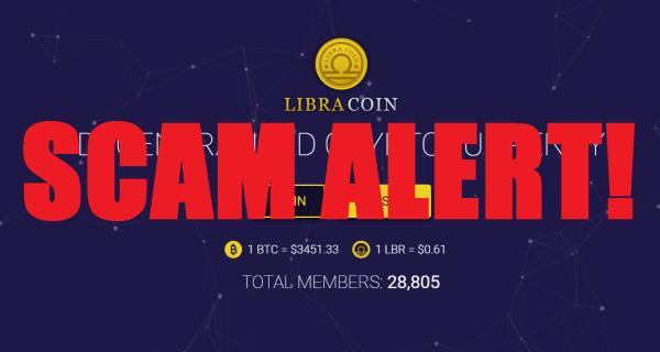 Libra Coin Scam Alert