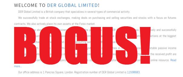 DER Global Limited