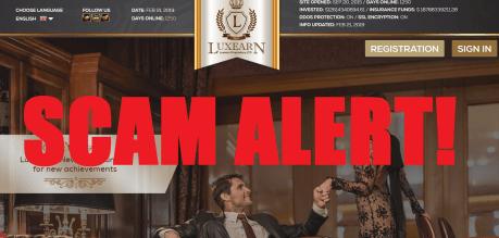 Luxearn Proprietary LTD Alert