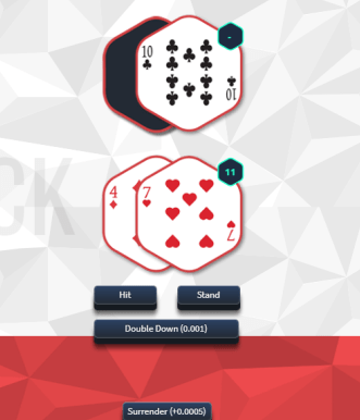 nitrogen bitcoin blackjack
