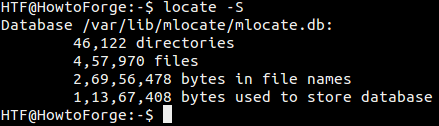 Hoe vind ik mijn .dat in Linux