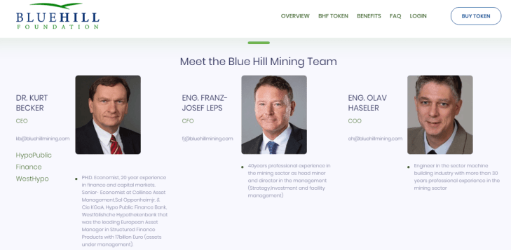 Bluehill foundation