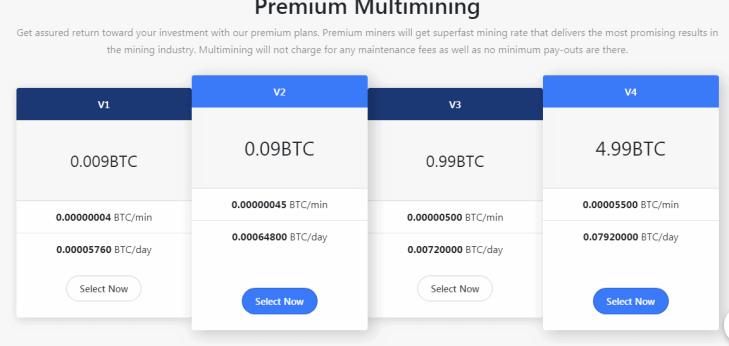 Multimining Website