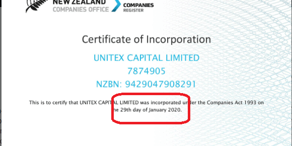 Unitex Capital