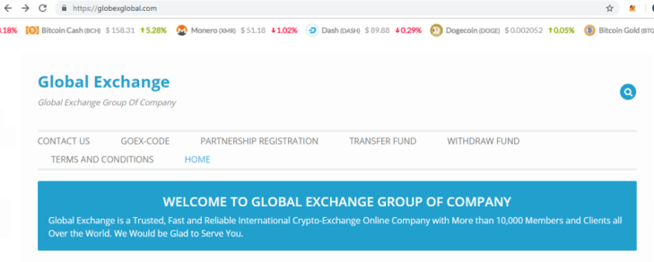 Globexglobal Fakes Global Exchange