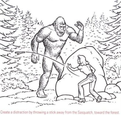 BIGFOOT colouring pages (page 3)