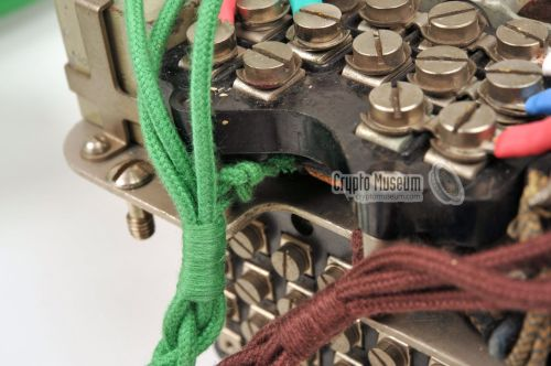 small resolution of tie knotting of the handset cable