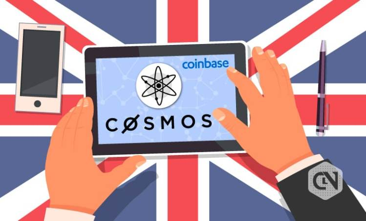 Cosmos (ATOM) is Now Available to Coinbase Customers in the UK