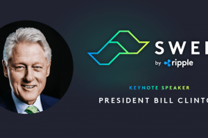 Bill Clinton to Deliver Address at Upcoming Ripple Swell Conference