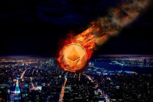 Ethereum Price Falls Below $300 as Cryptocurrency Market Tumbles