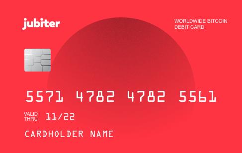 jubiter Debit Card
