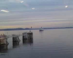 arrivée ferry