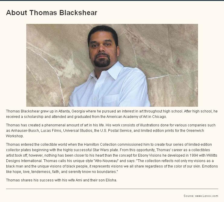 Thomas Blackshear Website