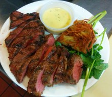 Steak and Bearnaise Sauce