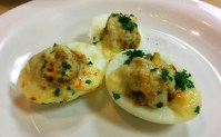 Chimay Stuffed Eggs