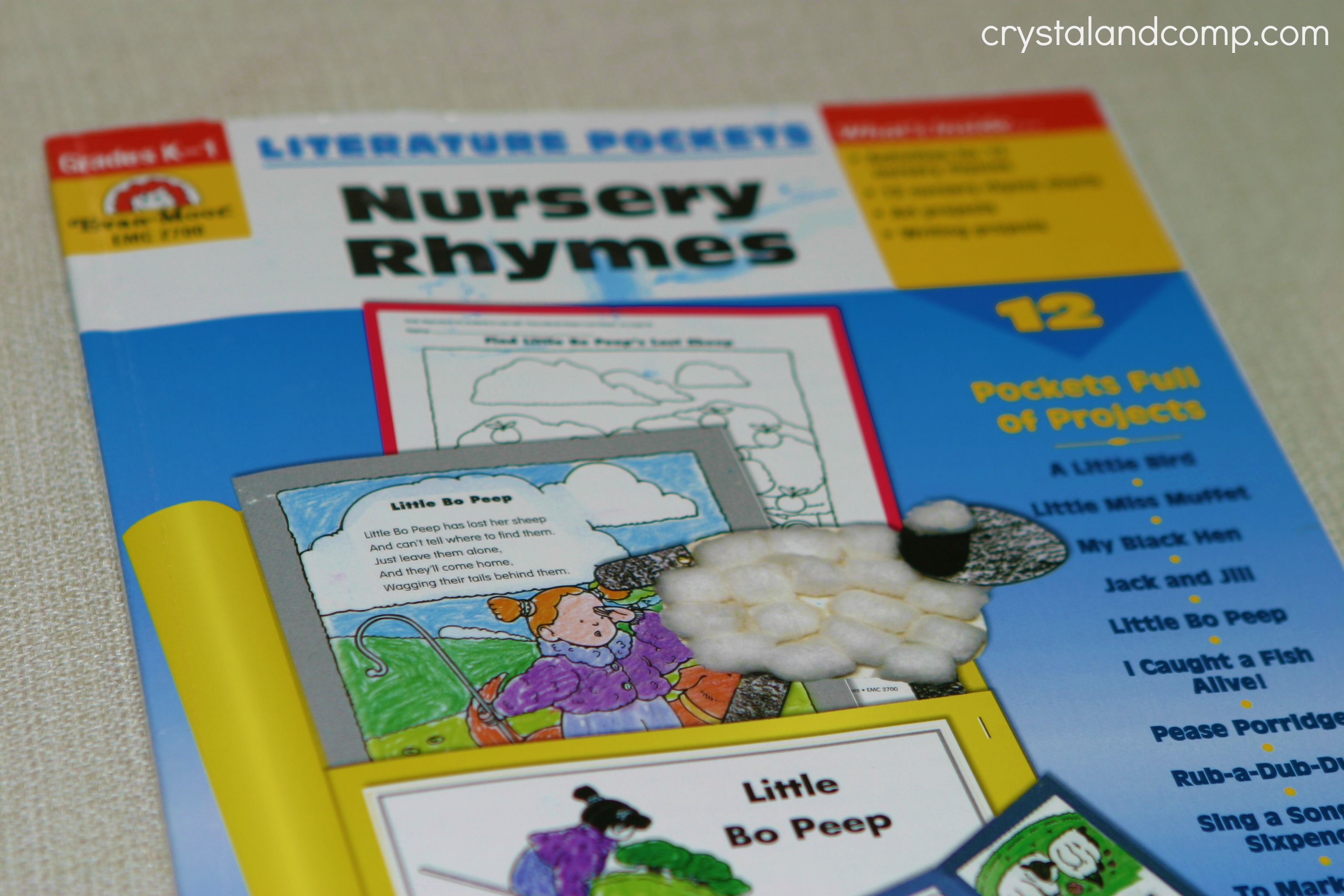 Homeschool How To Make Nursery Rhyme Pockets For Preschoolers