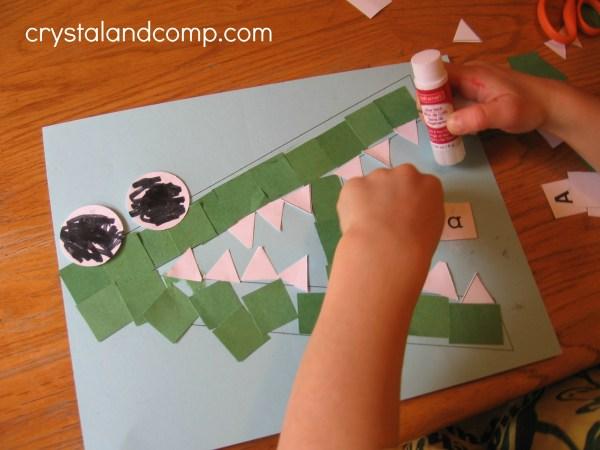 Alligator Crafts for Preschoolers